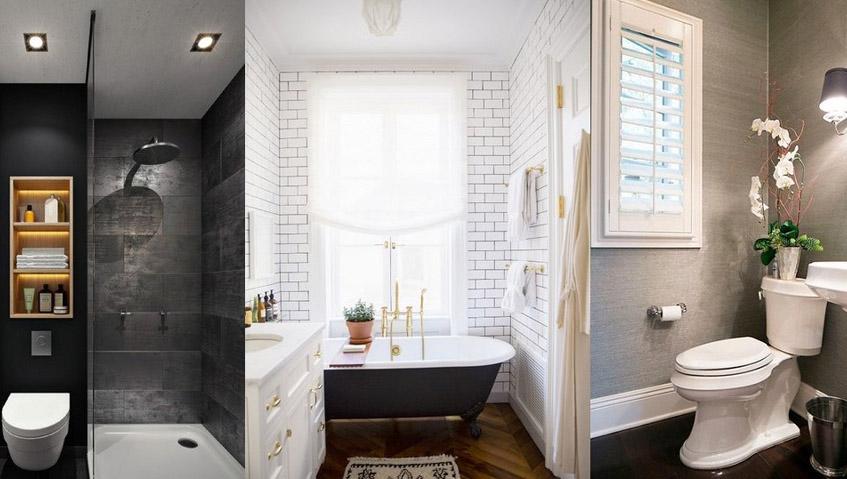 Μικρά μπάνια – Πώς να τα μεταμορφώσετε